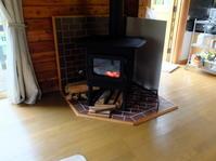 松本市のクラインガルデンに納品。 - 手作り薪ストーブ kintoku直火工房。