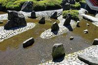 松尾大社松風苑「曲水の庭」 - レトロな建物を訪ねて