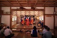 1582 日枝神社例大祭(1)飯豊神楽 - 四季彩空間遠野