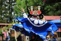 1583 日枝神社例大祭(2)板澤しし踊り - 四季彩空間遠野