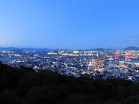 北九州市若松区高塔山からの夜景 - 何かを制覇するプロジェクト