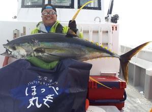 6月24日 キハダ便 43キロ、29キロ - 志摩沖 ほっぺ毛丸