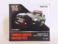 トミーテック・LV-N184a NISSAN GT-R パトロールカー - 燃やせないごみ研究所