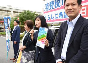 清瀬駅前スピーチ(1)だれもが尊重される社会へ -