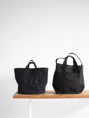 TYPE CANVAS BAG made in Nepal - 『Bumpkins putting on airs』