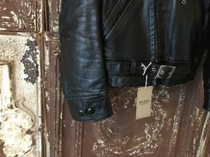 Late1930s-Early 1940s Horsehide Leather Jacket -