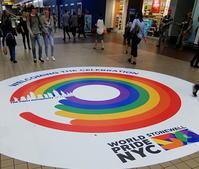 レインボー・カラーを使ったデザインの大喜利大会 - ニューヨークの遊び方