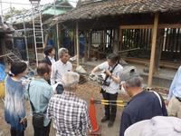 修理事業見学会 - ブログ版 八女福島町並み通信