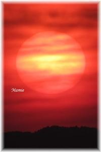 今日の夕陽 - おだやかに たのしく Que Sera Sera