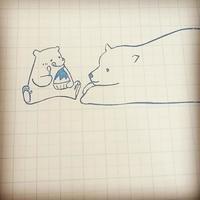 シロクマちゃんの親子はんこ♪ - kedi*kedi