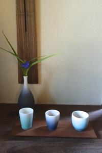 冷酒を美味しく - g's style day by day ー京都嵐山から、季節を楽しむ日々をお届けしますー