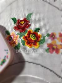 プラナカンビーズ刺繍  サンダル刺繍 - プラナカンビーズ刺繍  ビーズワークと旅