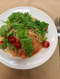 冷たいスパゲッティーニ - めでこのゴハンノオト