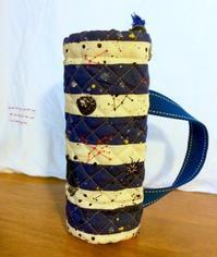 息子オーダーの水筒カバー - *Smile Handmade* ~スマイルハンドメイドのブログ~