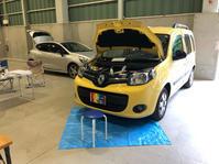 カングー2/1.2t/MTアーシング施工 - 「ワッキーの自動車実験教室」 ワッキー@日記でごじゃる