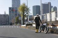堀内 優 & YAMAHA SR400(2019.01.13/TOKYO) - 君はバイクに乗るだろう
