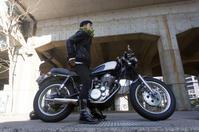 山口 順己 & YAMAHA SR400(2018.11.25/FUKUSHIMA) - 君はバイクに乗るだろう