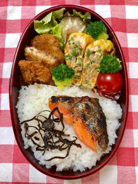 魚フライ★(^^♪・・・・・息子弁当 - 日だまりカフェ