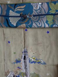 灯台と星とハマヒルガオ - うららフェルトライフ