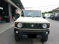 祝☆納車新車JB64ジムニーお買い上げありがとうございますლ(╹◡╹ლ) - ★豊田市の車屋さん★ワイルドグース日記