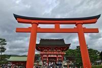千本鳥居にヘロヘロ。──「伏見稲荷大社」(初夏の京都への旅 その2) - Welcome to Koro's Garden!