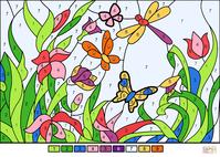 パソコンで塗り絵しました。 - マイ川柳