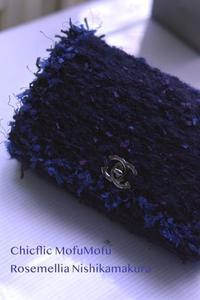Chicflic tweed style & mofumofu bag - ローズメリア西鎌倉/パリ花レッスン&旬のバッグレッスン教室<CHICFLIC Leviosa japan Coquette.715認定講師>