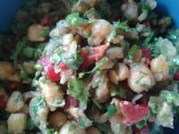 ポルトガル風ひよこ豆サラダ - コルマール街暮らし