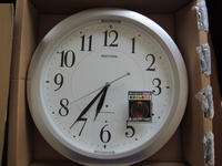時計を買い換え - このひとときを楽しもう