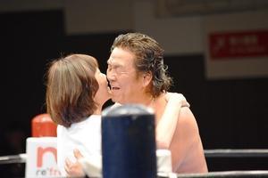 長州さん引退 -