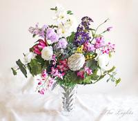 パープルの花 - アーティフィシャルフラワー THE LIGHTS(ザ・ライツ)