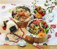 焼きうどん弁当ときゅうりでヨーグルト味噌♪ - ☆Happy time☆