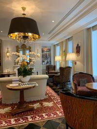 ホテルのサロンでティータイム ~Hôtel Splendide Royal, Paris ~ - おフランスの魅力
