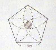 算数オリンピック<124>正五角形のケーキ - 齊藤数学教室「算数オリンピックの旅」を始めませんか?