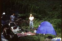 1987年8月8日 日和佐川〜安芸伊尾木川上流 - 藪の中のつむじ曲がり