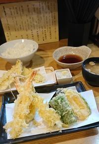 サクサクして美味しい天ぷら定食・天麩羅はちまき@神保町 - カステラさん
