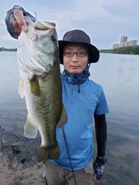 今日はK様の淀川ガイ... - 淀川・琵琶湖 陸っぱりガイド Make 「メイク」