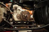 1947FL1200 トランスミッションその1 - Vintage motorcycle study