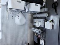 ニトリの収納で冷蔵庫壁面をがっつり使う - ほぼ100均で片付け収納に挑戦