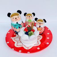 birthdayパンダリョーシカ! - フェルト手芸作家「PANENKA」北向邦子「わたしの毎日」