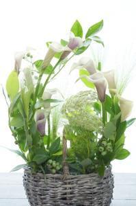 7年目初レッスンはパリの風を感じ… - お花に囲まれて