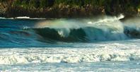 波の虹3c - 雲空海