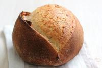 まんまるライ麦のふんわりカンパーニュ!と、あじさい - Takacoco Kitchen