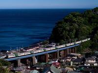踊り子114号石橋俯瞰 - 鉄道撮影メモ用