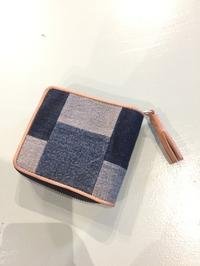 DAMASQUINA / UPCYCLE PATCHWORK WALLET SMALL - Safari ブログ