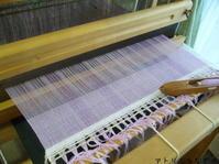 夏ストール織りはじめ - アトリエひなぎく 手織り日記