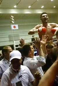 クドゥラの武士道 - 本多ボクシングジムのSEXYジャーマネ日記