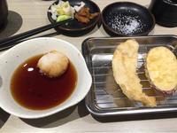 29日 天ぷら定食@たかお - 香港と黒猫とイズタマアル2