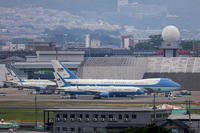 2019/6/29 Sun.  - VC-25A Air Force One - G20大阪サミット - PHOTOLOG by Hiroshi.N