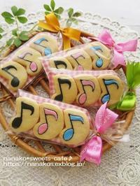 ♬音符のクッキー - nanako*sweets-cafe♪